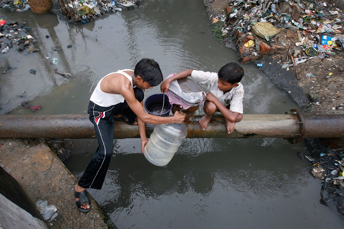 drinking water contaminated