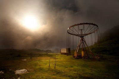 Marko Stamatovic, Carousel in the mist, Prokoshko, Bosnia