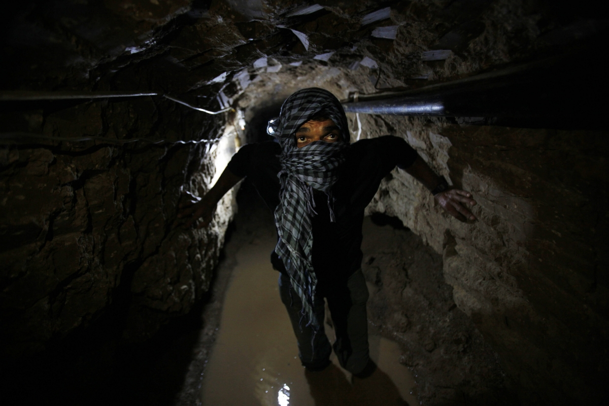 Israel Gaza Tunnel Terror Hamas Palestine Fatah West Bank Egypt