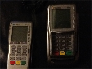 3D Printed Fake VeriFone POS Terminals
