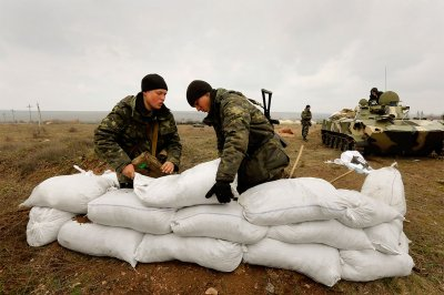ukrainian sand bags