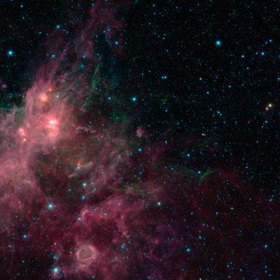 Milky Way Spitzer image