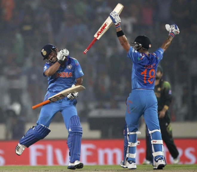 Suresh Raina and Virat Kohli