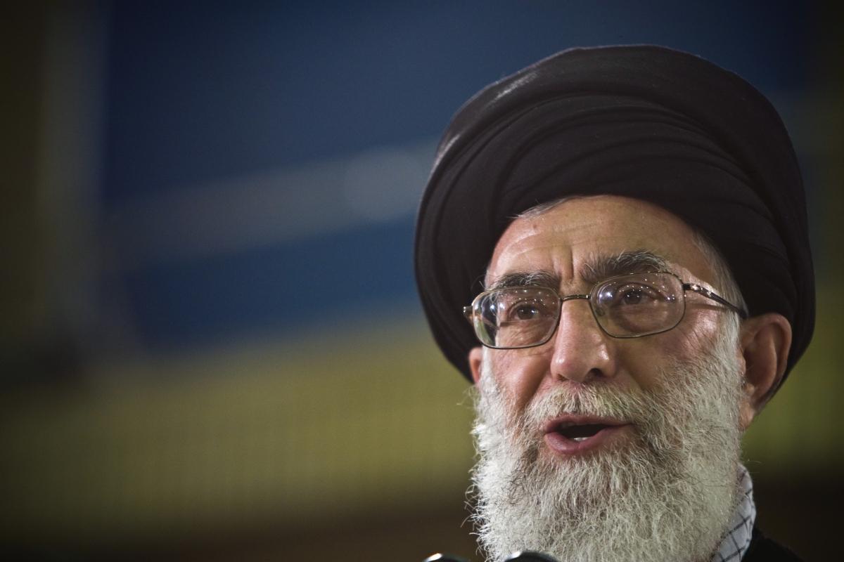 Ayatollah Ali Khamenei Holocaust Persian New Year Iran