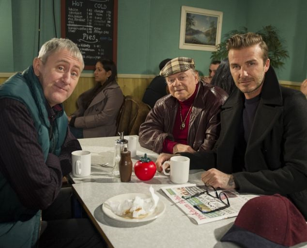 David Beckham on Only Fools and Horses