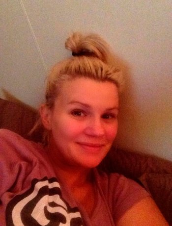 Make-up free: Kerry Katona's post Twitter. Now, though, some critics have decried #nomakeupselfie ...