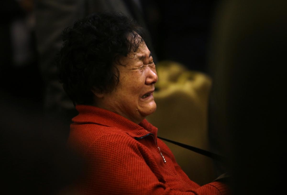 Relatives of Missing Passengers