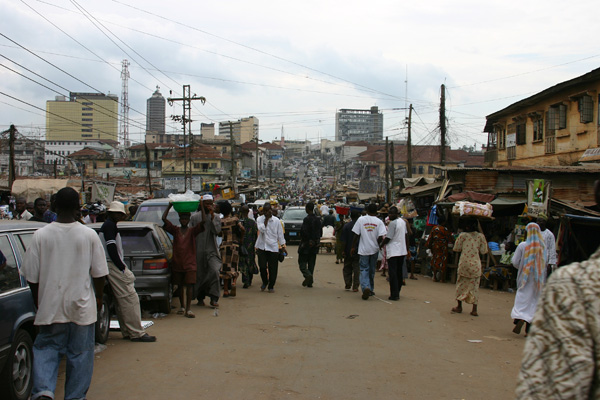 Ibadan street scene (WikiCommons)