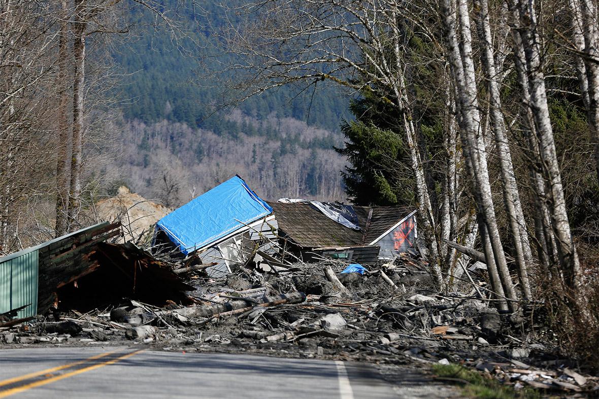 landslide house