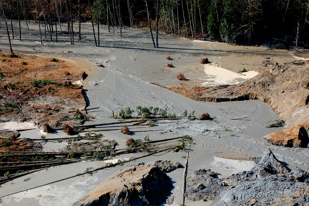 Us Landslide Death Toll Rises After Mudslide Near Oso In Map Washington State Oso