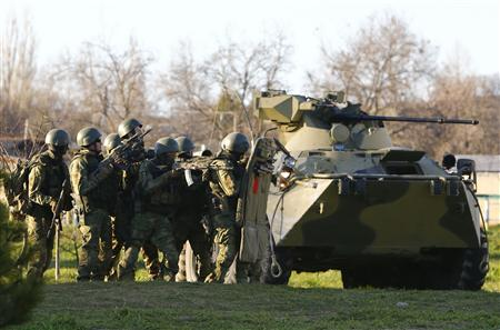 Russian Forces Complete Belbek Airbase Takeover