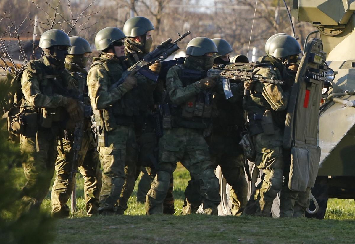 Ukraine Russia Military Base Crimea Invasion European Union