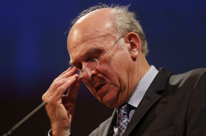 Business Secretary Vince Cable
