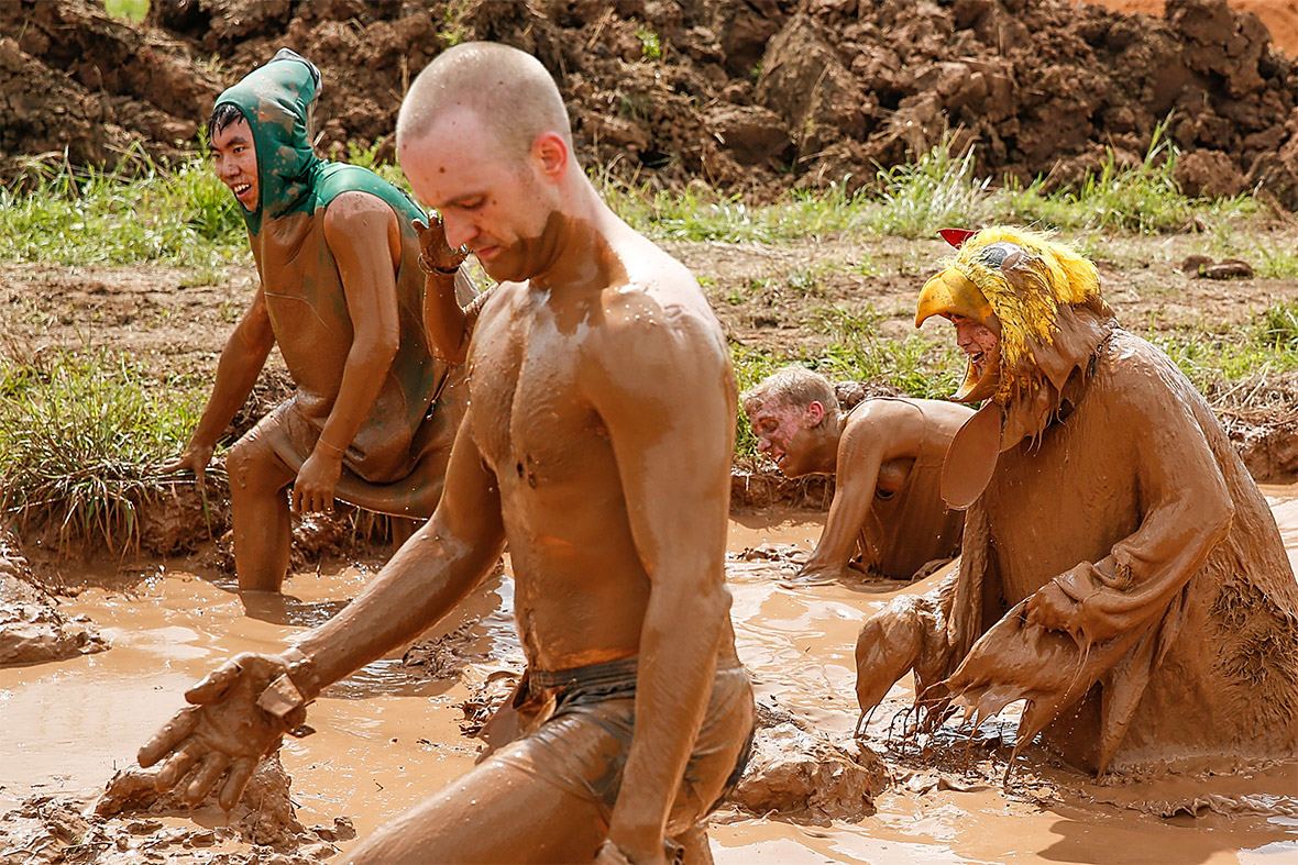warrior dash mud