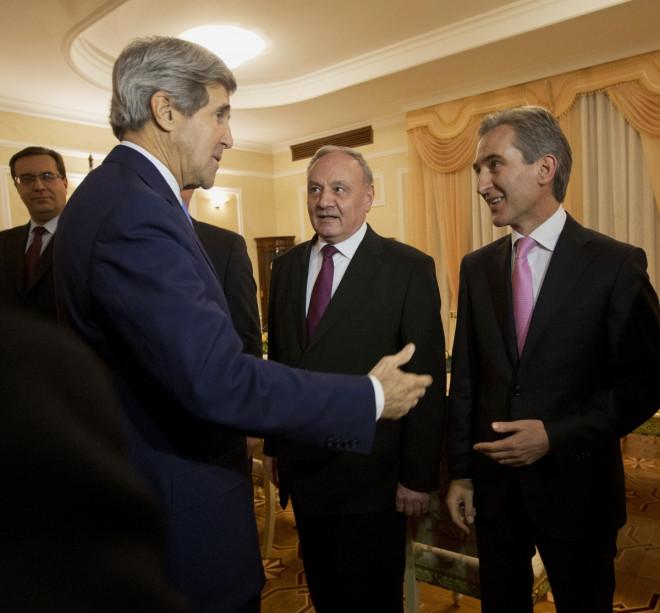 Russia Moldova Ukraine Kerry Crisis United States European Union