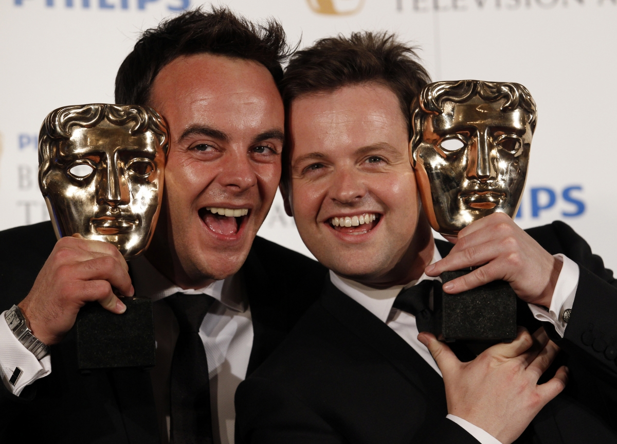 Ant McPartlin (r) was attacked outside a west London pub by gang
