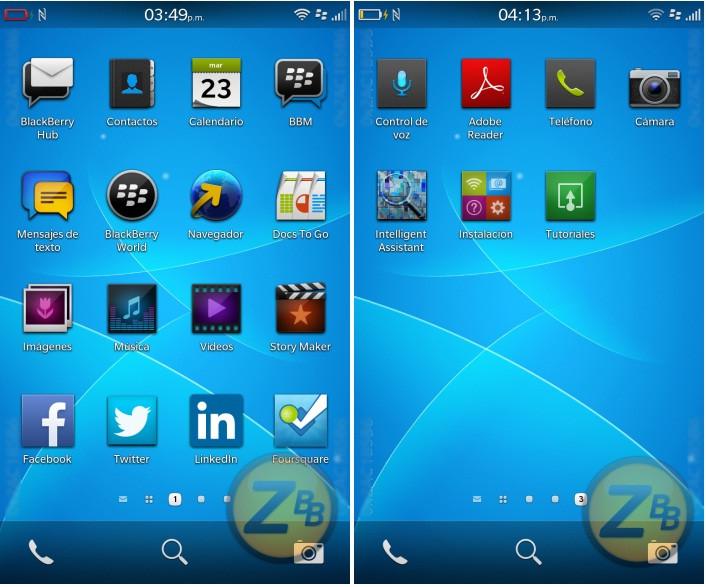 BlackBerry 10.3 OS