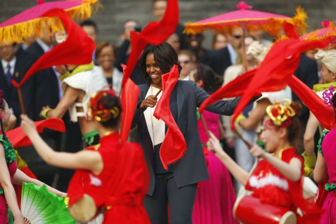 Michelle Obama China Trip