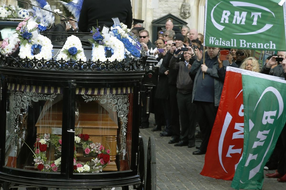 bob crow funeral