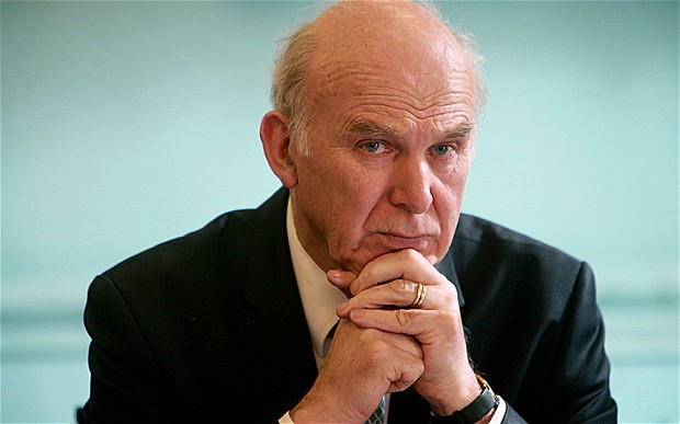 Vince Cable Wants to Limit Royal Mail Chief's Pay Rise