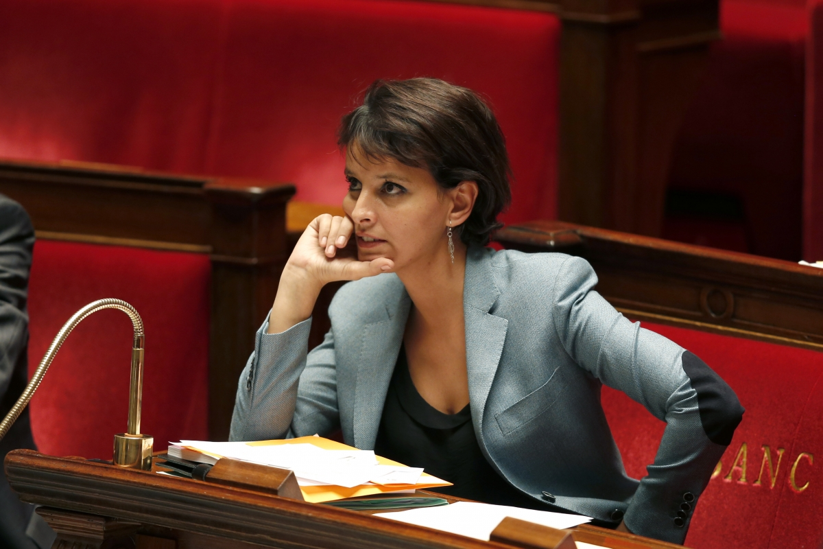 French Minister of Women's Rights Spokesperson of the Government Najat Vallaud-Belkacem