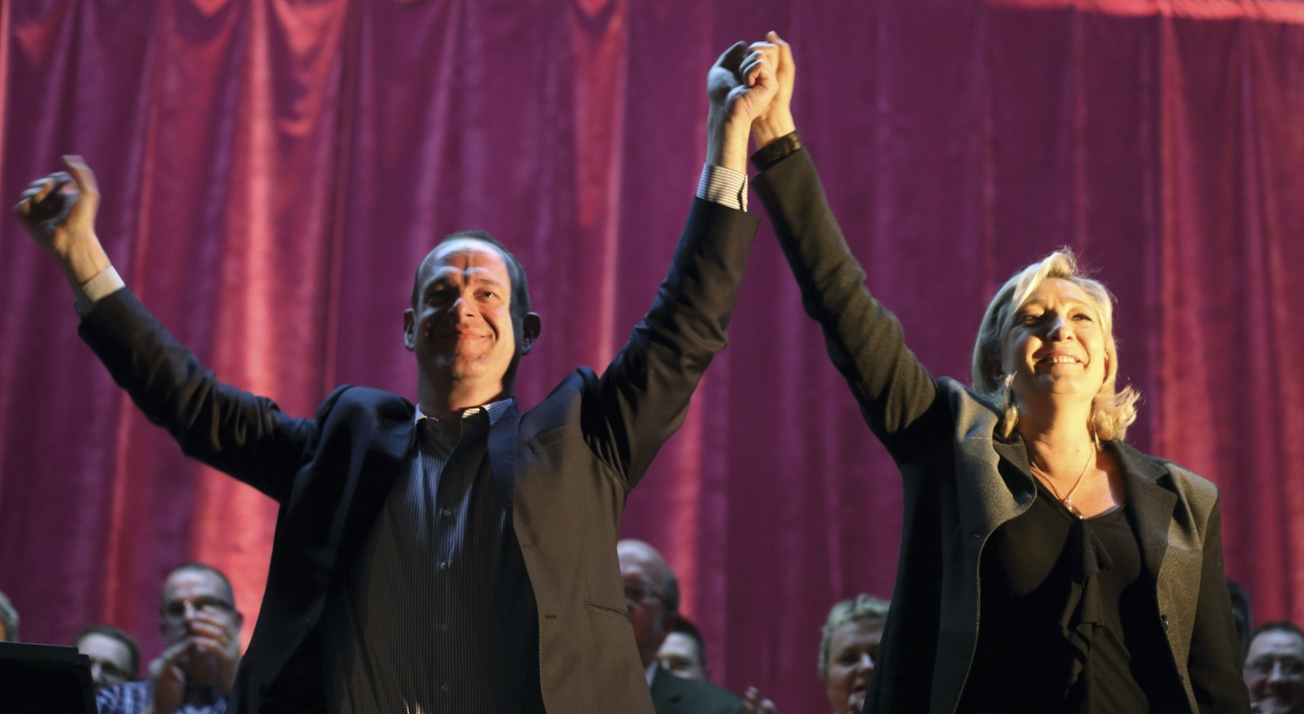 Steeve Briois Le Pen FN