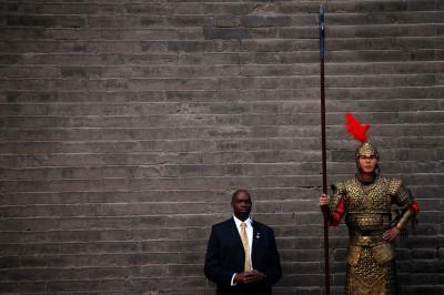 Michelle Obamam guard