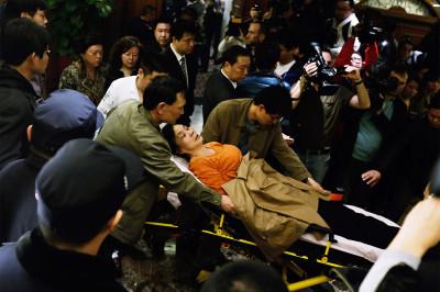woman stretcher