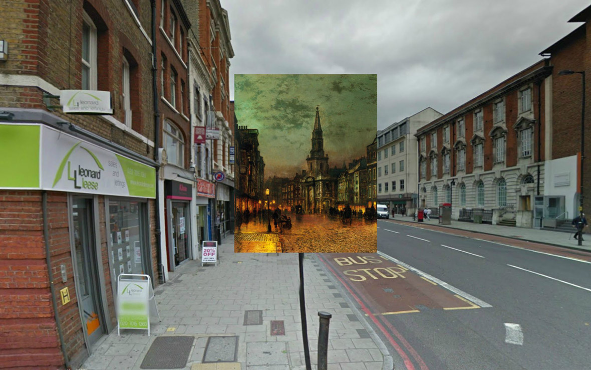 Blackman Street London 1885 John Atkinson Grimshaw