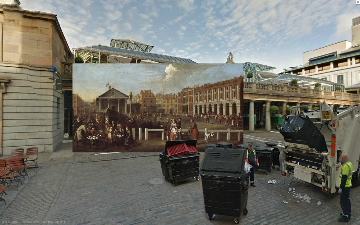 Covent Garden Market 1737 Balthazar Nebot