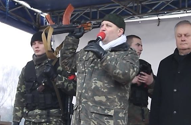 Ukrainian Right-Wing Leader Killed by Police (Graphic Content)