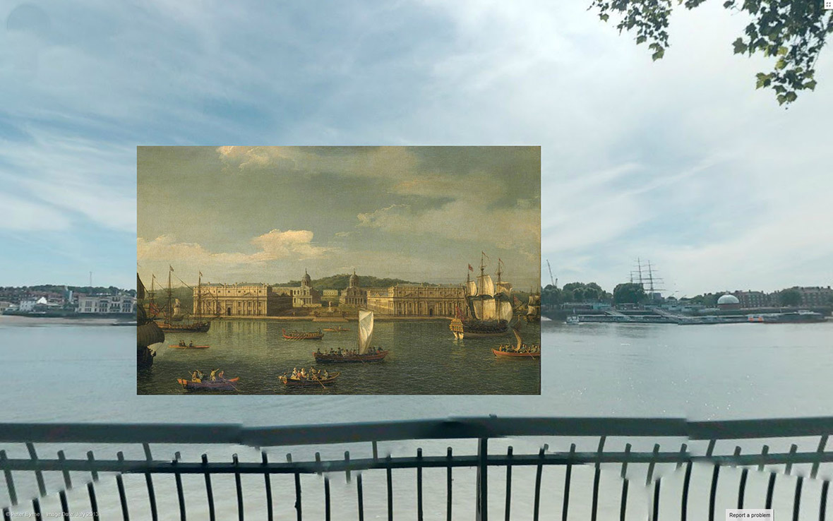 A View of Greenwich from the River 1750-2 Canaletto