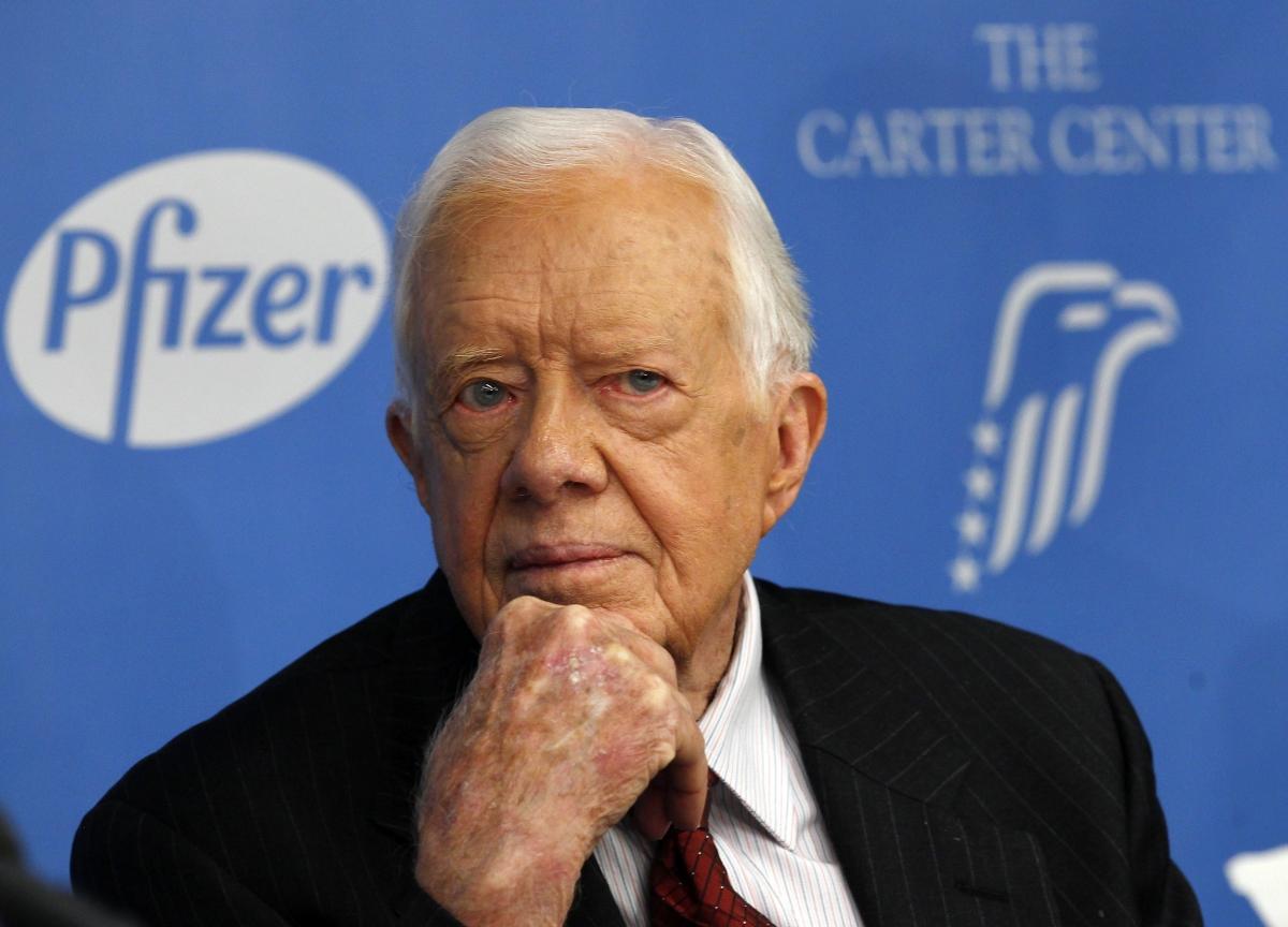 Former U.S. President Jimmy Carter