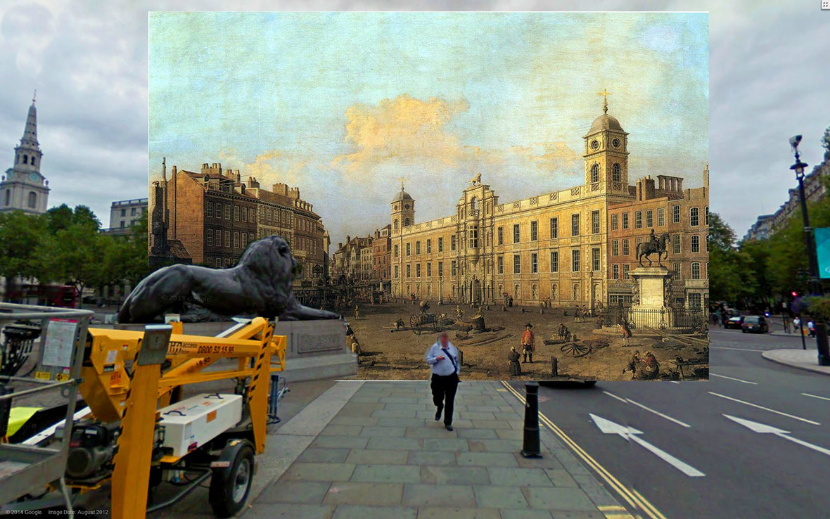Northumberland House 1752 Canaletto