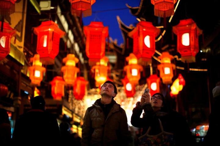 Chinese Lantern Shanghai China