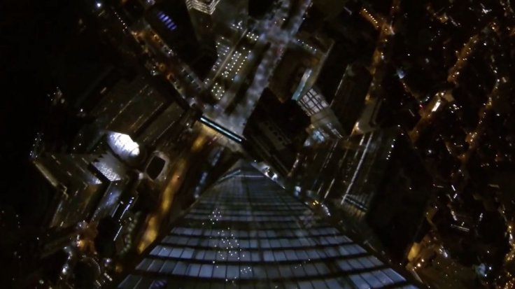 One World Trade Center Base Jump Caught on Video