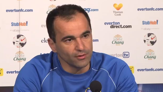 Roberto Martinez: I'm Not Looking at the Table