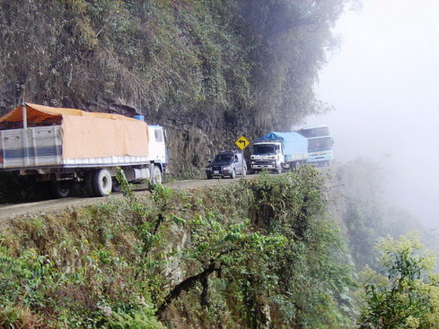 The North Yungas Road - Bolivia