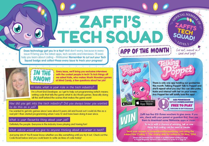 A new magazine for young girls aims to get them interested in jobs for women in technology