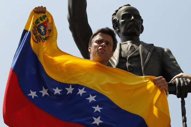 Leopoldo Lopez Venezuela Opposition Protests Caracas New York Times