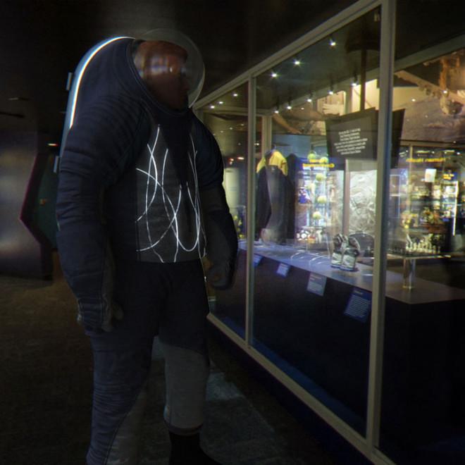 Spacesuit biomimicry