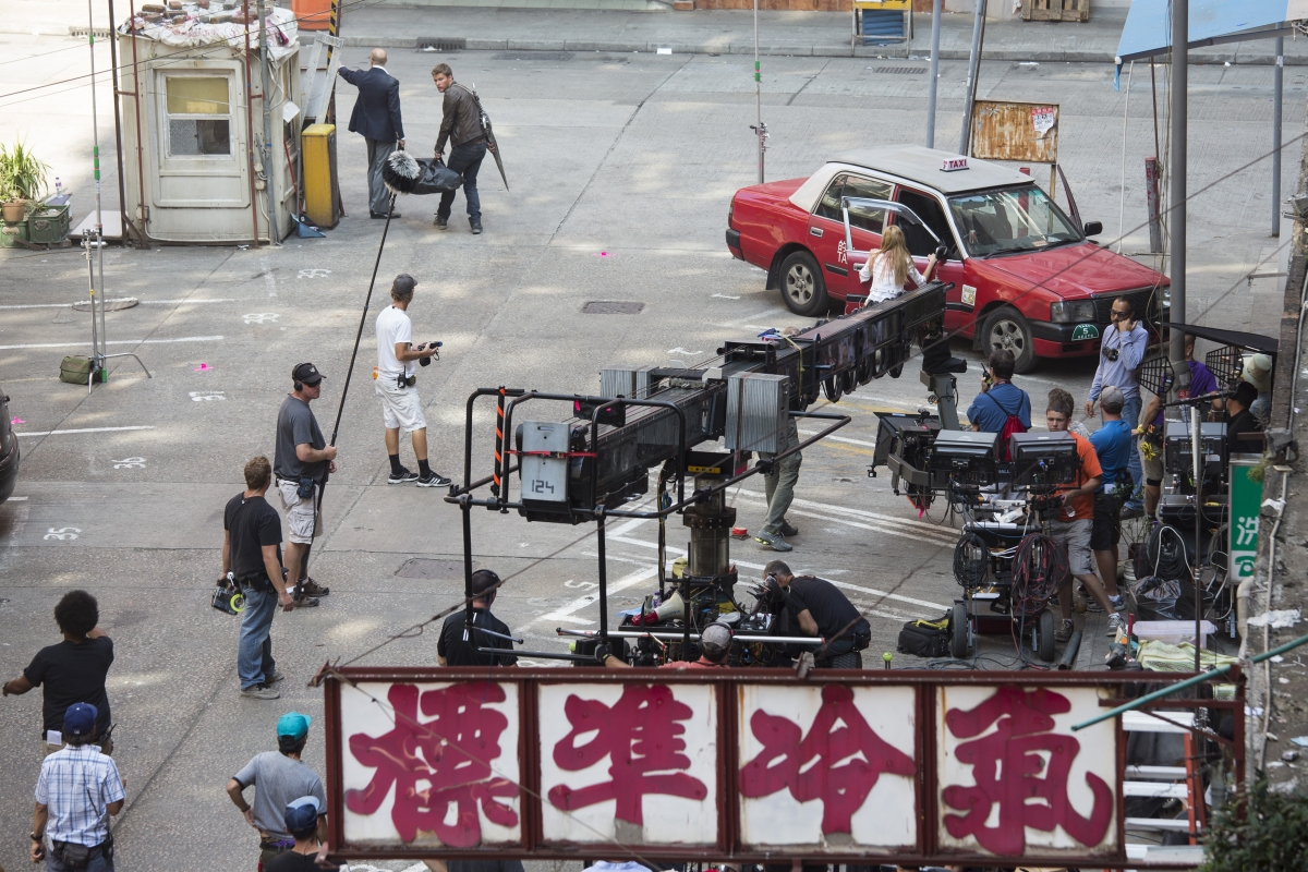 Filming Transformers Age of Extinction In Hong Kong