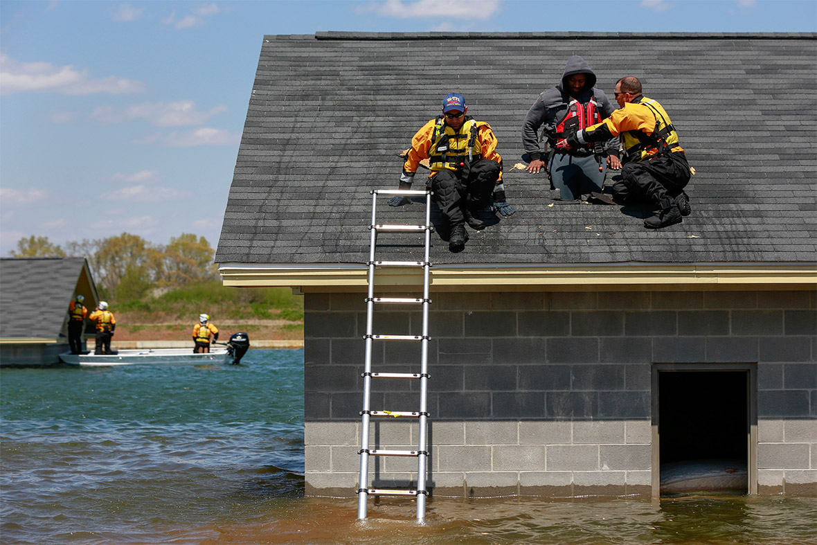 rescue drill flood