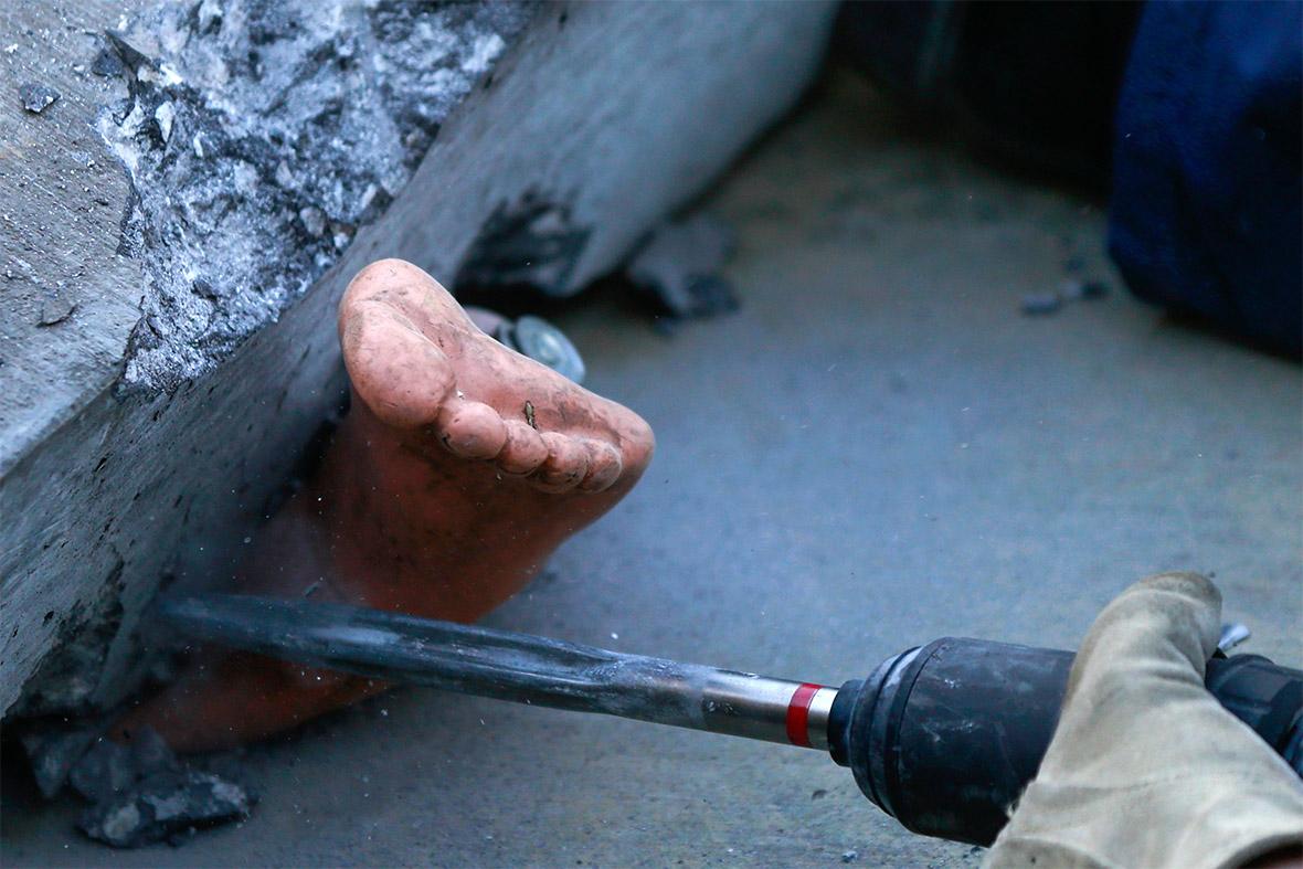 rescue drill foot