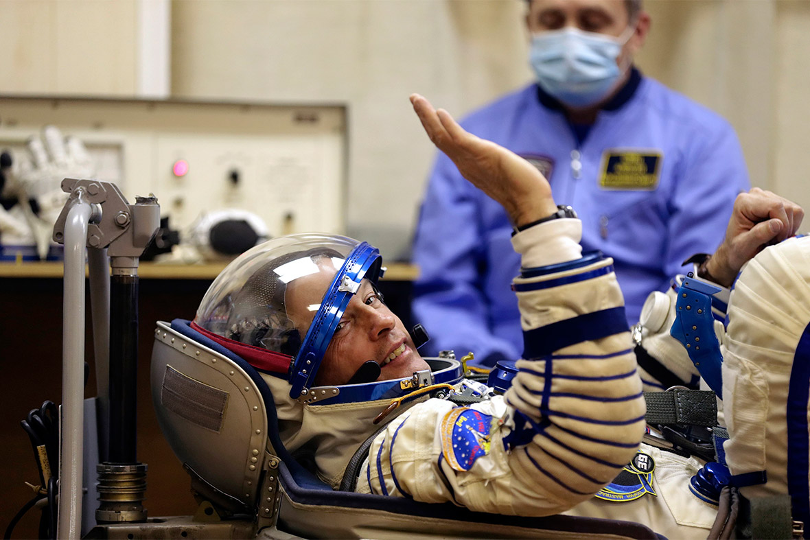 soyuz astronaut