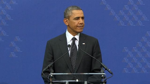 Obama Jabs Putin, Calls Russia a 'Regional Power'