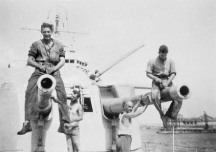 HMAS Sydney 1940