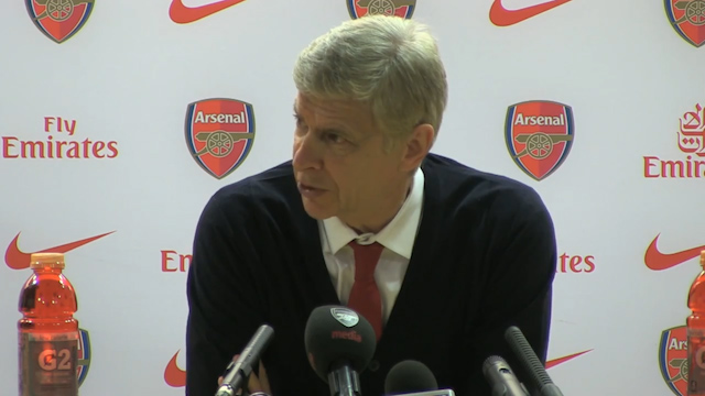 Wenger: We Need to Stop These Goals from Happening