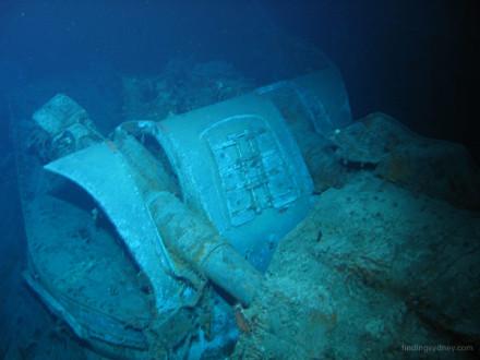 HMAS Sydney A Turret