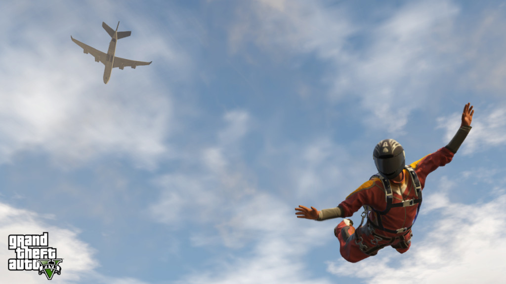 GTA 5 Online: Players Use Gravity Propelled Human Body as Lethal Weapon